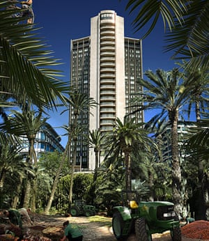 London Future images: Open spaces start to resemble tropical plantations