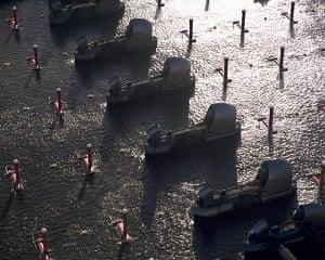 London Future images: Thames Barrier, London