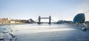 London Future images: The frezes Thames every winter and becomes the countrys longest