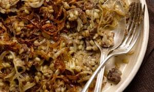 Spiced lamb and pearlbarley