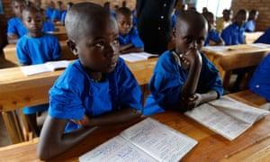 rwanda schools english
