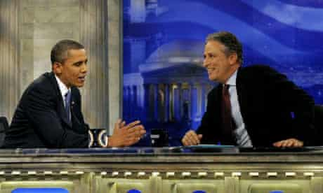 Obama on Daily Show with Jon Stewart