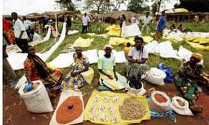 Katine market