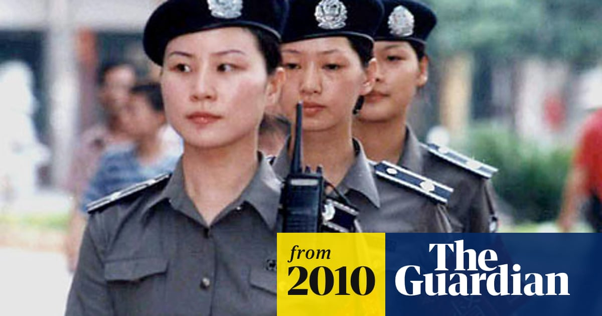Chinese city wardens wanted: must be young, female and