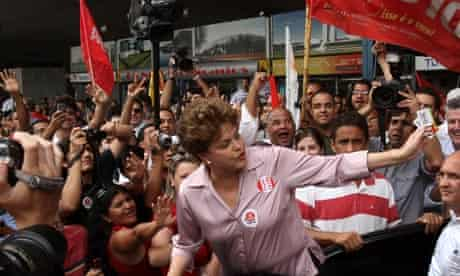 Brazilian presidential candidate Dilma Rousseff