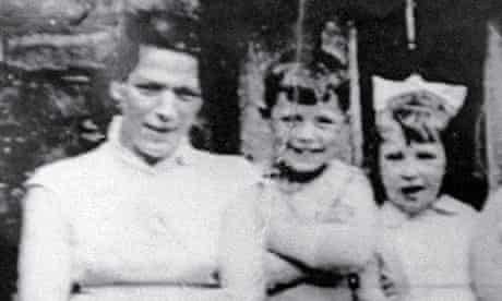 Jean McConville with two of her children