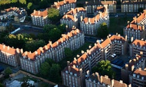 Estate housing in South London