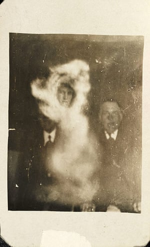 William Hope ghost pics: Two men with female spirit