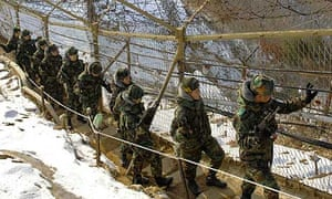South Korean soldiers in Hwacheon