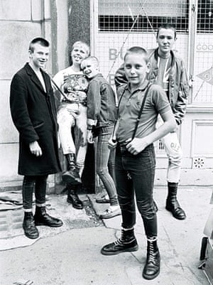 Doc Martens: Skinheads  in London in 1983
