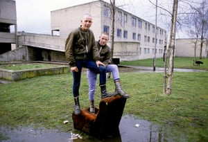 Doc Martens: Young skinheads on the Dunstan Estate