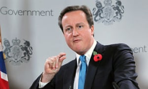 David Cameron in Brussels on 29 October 2010.