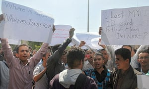 Yemeni students protest after a fellow student was arrested in connection with cargo plane bomb plot