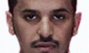 An undated photo, released by Saudi Arabia's interior ministry, said to show Ibrahim Hassan al-Asiri