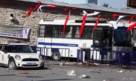 suicide bomb Turkey Istanbul