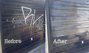 Graffiti Clampdown Sees Streets Cleaned Cardiff The