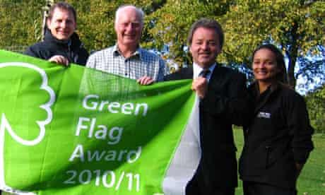 Inverleith Park Green Flag