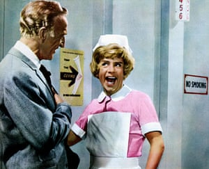 Norman Wisdom: Jerry Desmonde and Norman Wisdom in the Film 'A Stitch In Time'