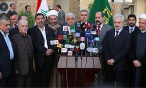 Iraq press conference