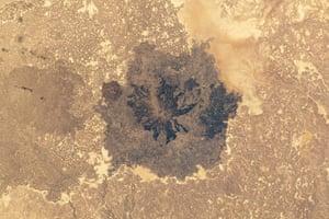 Satellite Eye on Earth  Es Safa southeast of Damascus, Syria