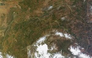 Satellite Eye on Earth  Alaska Range, Mount McKinley