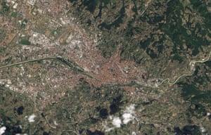 Satellite Eye on Earth  Florence, Italy
