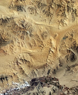 Satellite Eye on Earth  Chile's San José copper and gold mine