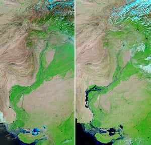 Satellite Eye on Earth  Indus river