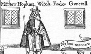 Matthew Hopkins, witch-finder general