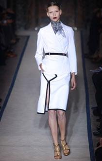 Yves Saint Laurent at Paris fashion week