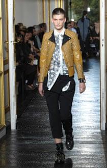 Balenciaga's Paris fashion week collection