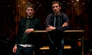George (left) and Jack Barnett of These New Puritans.