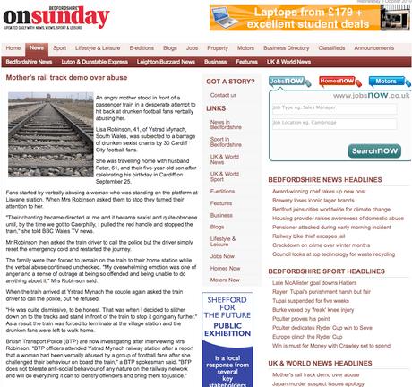 Bedfordshire newspaper uses Press Association Auschwitz image