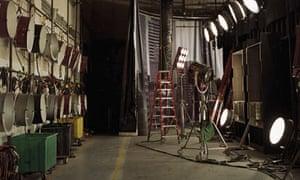 film set empty