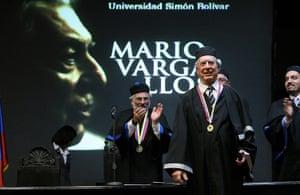 Mario Vargas Llosa: Mario Vargas Llosa is invested as Doctor Honoris Causa