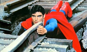 Christopher Reeve as Superman in 1978