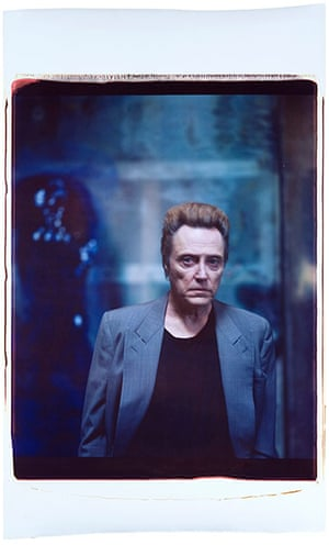 Julian Schnabel: Untitled (Christopher Walken), 2006, by Julian Schnabel