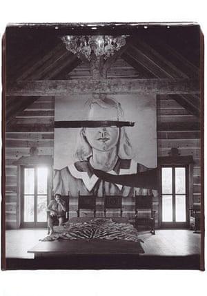 Julian Schnabel: Untitled (Self Portrait with Big Girl, Montauk), 2004 by Julian Schnabel
