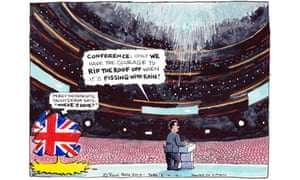 Steve Bell's cartoon from 5 October 2010.