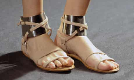 Sandals by Lanvin - Paris Fashion Week Spring/Summer 2011 Runway