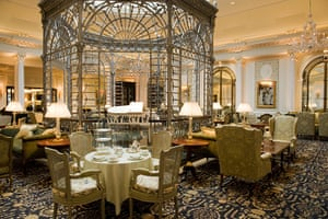 Savoy hotel reopens: Thames Foyer