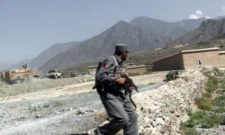 British aid worker kidnapped by the Taliban militants, Afghanistan
