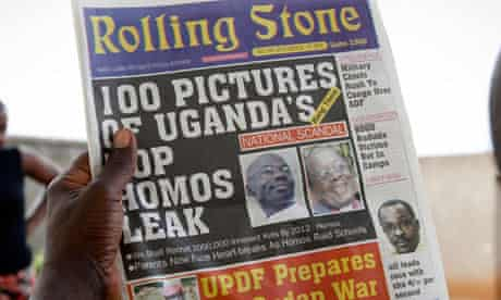 Uganda's Rolling Stone newspaper