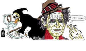 Life Keith Richards digested read