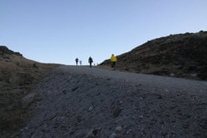 Polar circle: Polar Circle marathon - another hill