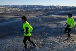 Polar circle: Polar Circle marathon - twins