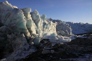 Polar circle: Polar Circle - Russell glacier