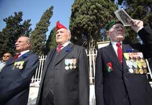 Remembrance day: Lebanese veterans attend the Armistice Day