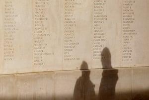Remembrance day: National Memorial Arboretum in Alrewas