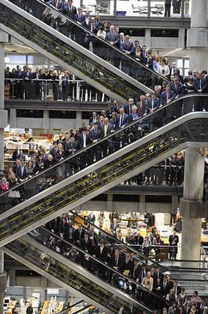 Remembrance day: Lloyds of London